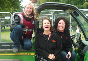 Hotbox Events event staff working at Leeds Festival