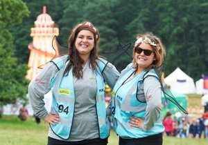 Hotbox Events volunteer event stewards working in event arena