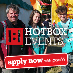 Festival Jobs and Festival Work with Hotbox Events