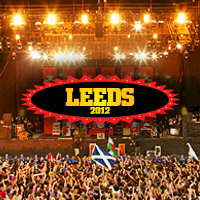 2012 Leeds Festival Logo with Stage