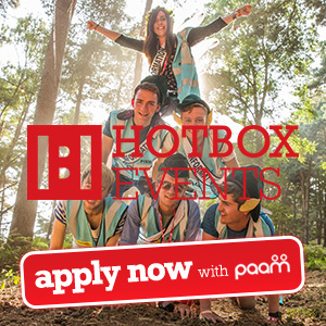 Volunteering at Festivals with Hotbox Events in 2014