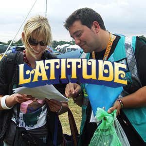 2014 Latitude Festival staff and volunteer info in PAAM!
