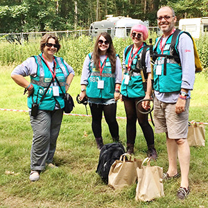 Festival Volunteer feedback from Reading, Leeds and Latitude!