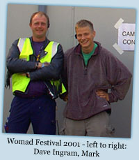 Womad Festival 2001 - Dave Ingram, Mark Hatchard