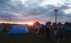 The 2014 Reading Festival campsites