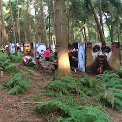 Art In the Woods at Latitude Festival