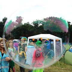 Bubbles are a Festival Pixie must have