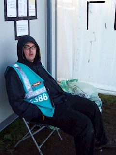 Offical Reading Festival Rubbish Guard