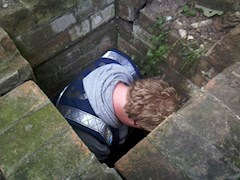 Rob in a hole