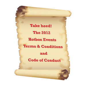 Hotbox Events 2012 Festival Updates!