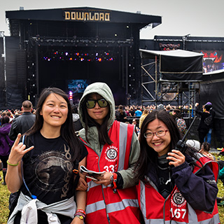A huge thank you to our 2017 Download Festival staff and volunteers! Please send us your feedback!