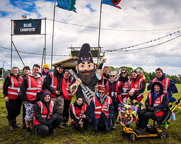 Volunteer at Download Festival - Campsite volunteer group