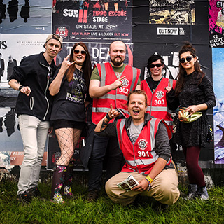 2018 festival volunteer deposits reduced, returned faster, and no card fees!