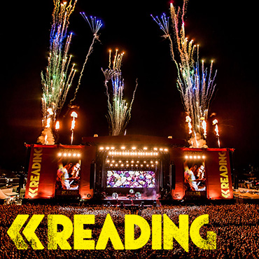 Volunteer at Reading Festival with Hotbox Events - Stage photo with festival logo - 2018 002 370PxSq72Dpi