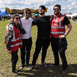 2018 Download Festival volunteer shifts, info pack, meal ordering!
