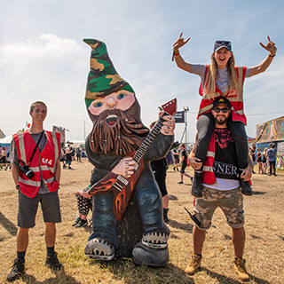 A massive thank you to our awesome 2018 Download Festival staff and volunteers!  Please send us your feedback!
