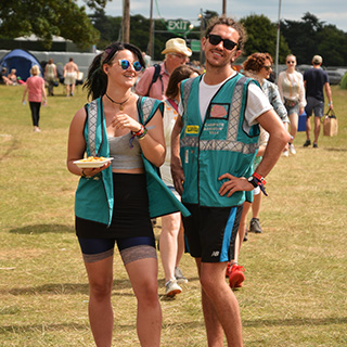 2018 Latitude Festival volunteer shifts, info pack, meal ordering for brand new catering!