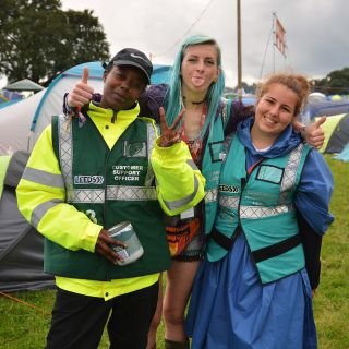 Reading and Leeds Festival Volunteers - Thank you!