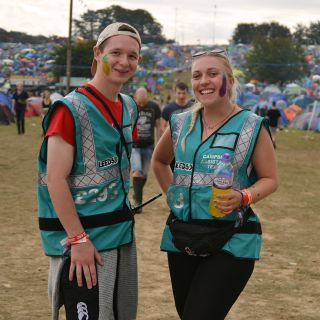 2013 Reading and Leeds Festivals staff and volunteer info in PAAM