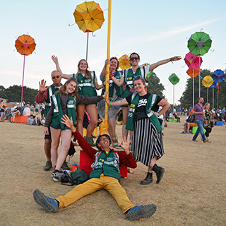 2 weeks until 2019 festival volunteer applications open on Friday 1st February!