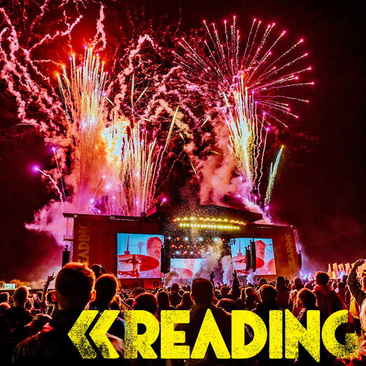 Volunteer at Reading Festival with Hotbox Events - Stage photo with festival logo 2019 001 740PxSq72Dpi