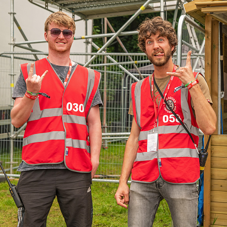 Volunteer at Download Festival with Hotbox Events - Campsite fire tower volunteers