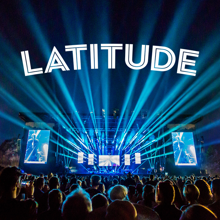 Volunteer at Latitude Festival with Hotbox Events - Stage photo with festival logo 2019 002 740PxSq72Dpi