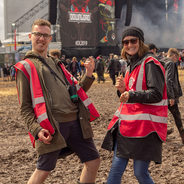 A huge thank you to our amazing 2019 Download Festival staff and volunteers! Please send us your feedback!