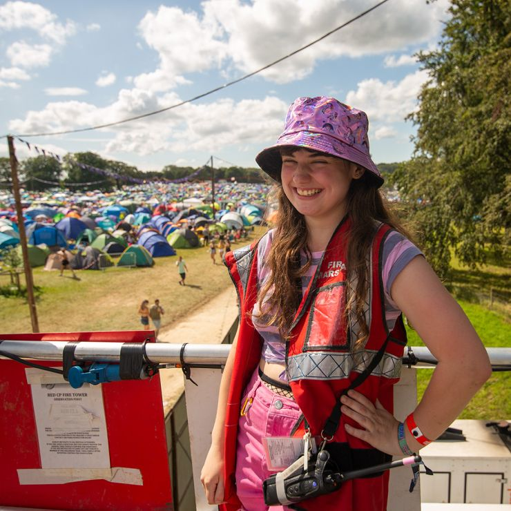Volunteer at Leeds Festival 2020 with Hotbox Events - Campsite fire tower volunteer